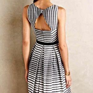 Anthropologie Eva Franco Black and White Dress